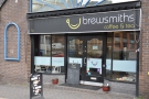 A more detailed view of the front of Brewsmiths...