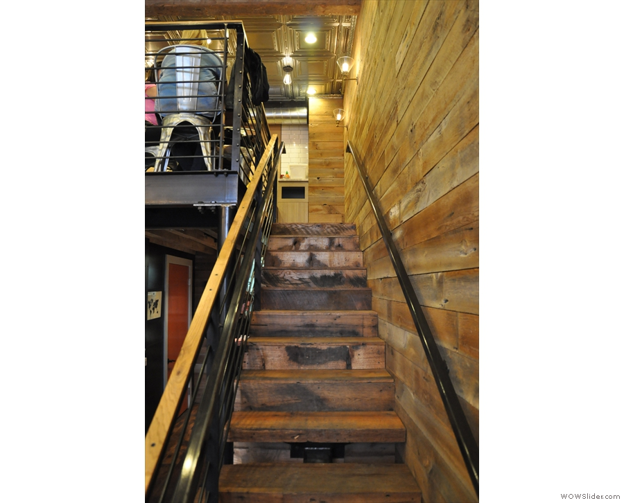 ... however, the stairs were even more tempting...