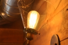 I liked the light-fittings up on the mezzanine...