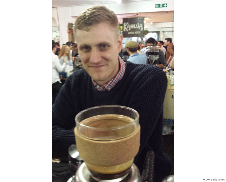 Popping over to the east coast, KeepCup #1 meets Anth of Colour Coffee Co.