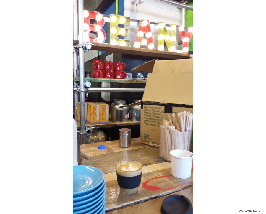 Finally, JOCO Cup visits Beany Green at Paddington for some Roasting Party Coffee.