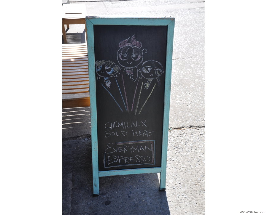... the other side, drawn by barista Amanda, is none too shabby either!