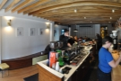 ... and the view from behind the counter.