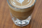 This one is mine: a very fine cortado.