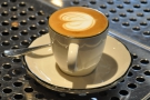 ... and great latte-art. Shame it's not for me!
