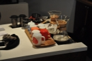 I failed to get much of a shot of the island bar; just snapping the brew bar at the end.