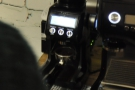 The grinder is fully automatic: once you've set it going, it will deliver a precise dose...