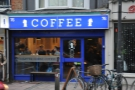Quarter Horse Coffee on the Cowley Road in Oxford...