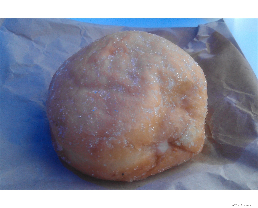 I saved the best 'til last: one of Glazed & Confused's lovely doughnuts.