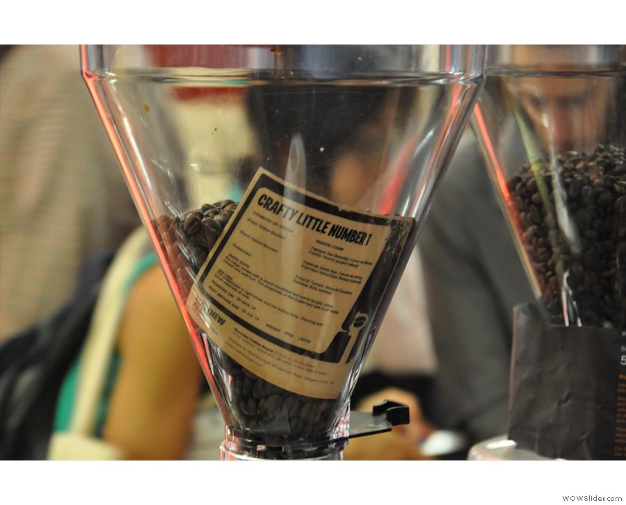 Crafty Little Number 1, Matthew Algie's second espresso blend.