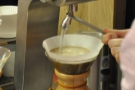 I tried it through the Chemex (one of the few brewing methods I don't have at home!).