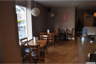 The staff here are very proud of the cafe. They made me take another picture once they'd tidied up!