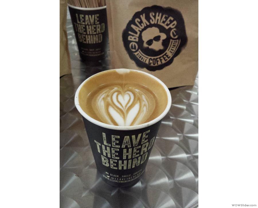 More latte art.