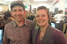 Cumbria's Carvetii Coffee: Gareth & Angharad, Welsh to the core :-)