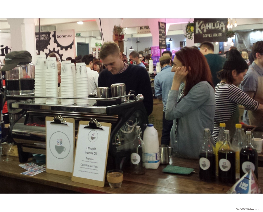 Next stop, Pink Lane/Colour Coffee Company to say hi to Anth and Alison.