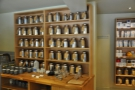 Talking of tea, here it is, behind the counter. Is that all of it?