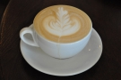 There was also plenty of latte-art on display, ranging from a standard fern leaf...