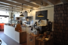 ... and as seen from the back of the store. Kate & I really liked its layout/design.