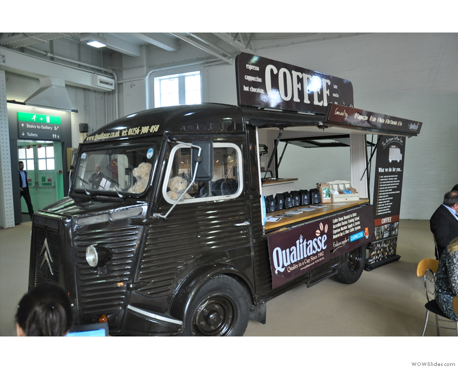 I have no idea what these people's coffee is like, but I loved the van :-)