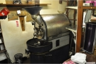 And, on the other side of the room, where it all comes from: the all important roaster!