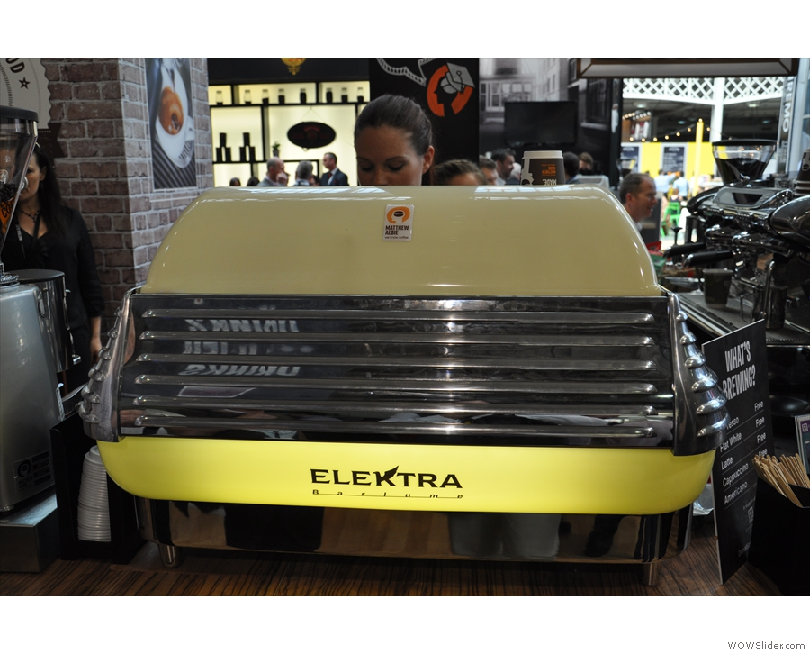 Normally I'm not a fan of big, bulky espresso machines, but I've a soft spot for the Elektra.