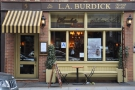 L.A. Burdick on East 20th Street, sandwiched between Broadway and 5th Avenue.