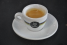 Baristas are (quite rightly) proud of their craft. Here is the same espresso after Sara has cleaned it up for the camera!