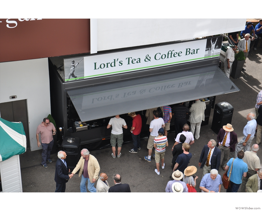 Also from 2011: the stall next to the Lord's Tavern.