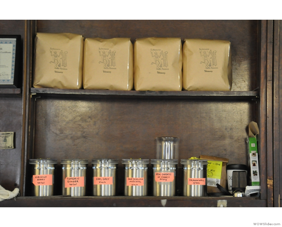 ReAnimator keeps the filter coffee behind the counter (along with the tea!)