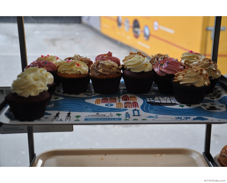 There's the ever popular cupcakes.