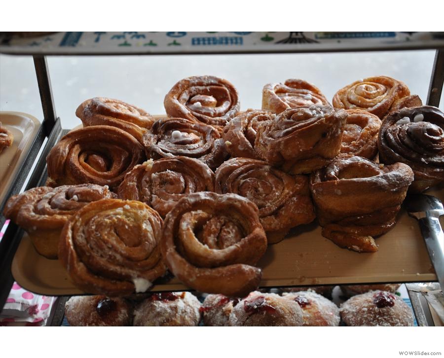Cinnamon buns, my favourite!