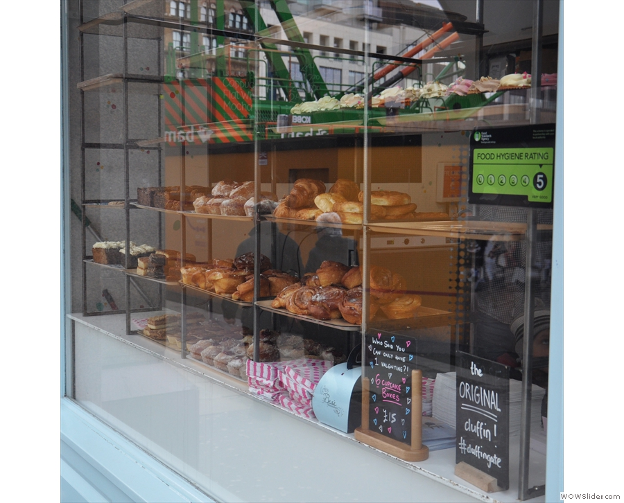 ... there is, however, a window full of cake. What could possibly go wrong?