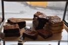 Chocolate brownies and blondies.