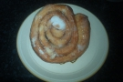 I did have a piccolo, and also this cinnamon bun which I took home with me.