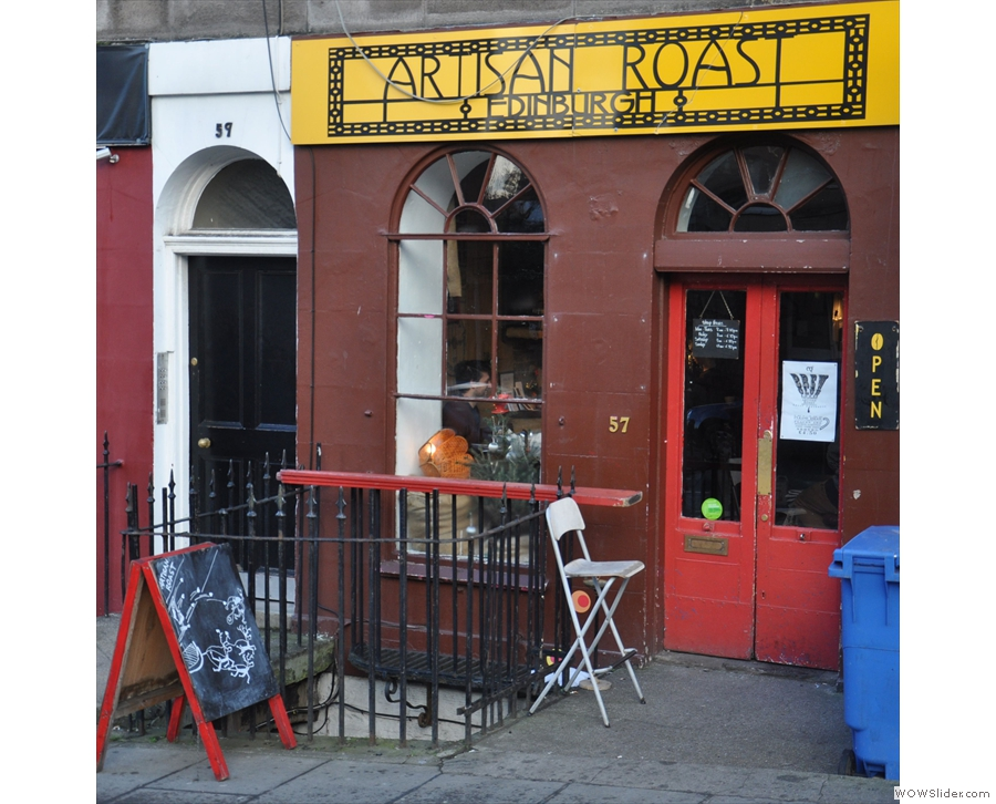 Artisan Roast on Broughton Street