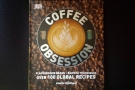 Talking about being given things: Piers gave me a copy of Coffee Obsession!