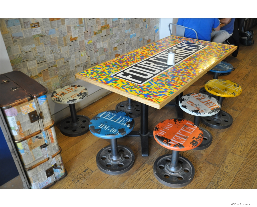 The famous lego table...