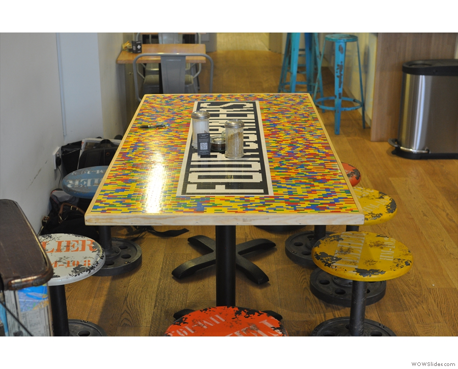 The famous lego-effect table.