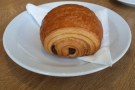 And finally, I got to try one of the pastries on my return visit without being killed by Kate!