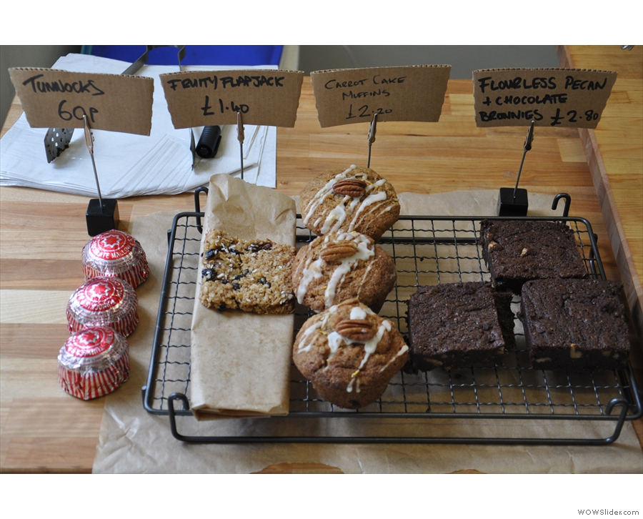 There are also cakes. With the exception of the Tunnock's tea cakes, Gareth baked them all.