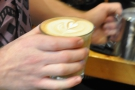 Lovely latte-art, terrible picture!