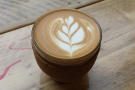 Lovely latte art though :-)