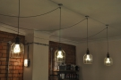 I did like the light-bulbs hanging above it.