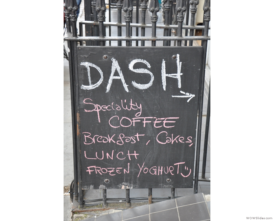 Dash, however, is the speciality coffee outlet of the set-up.