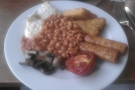 And to prove it's not all sweet things, my vegetarian breakfast from last year with Keith.