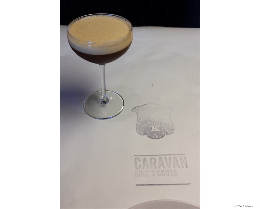 I had to have something coffee-related, so I'll leave you with an espresso martini.