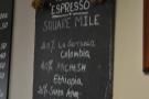 Today's espresso blend.