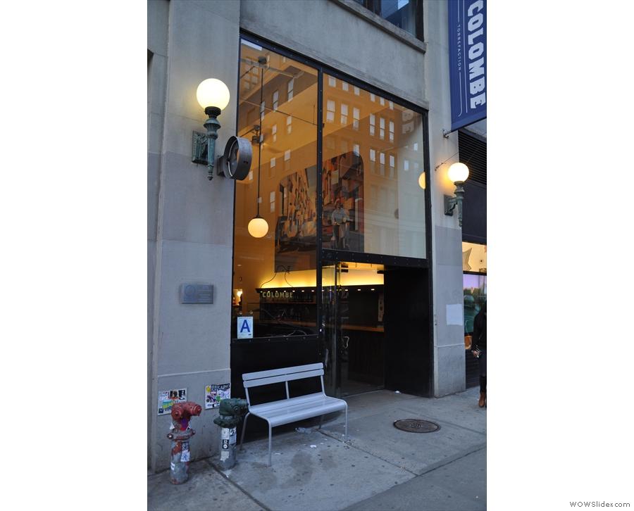 La Colombe at 270 Lafayette Street.