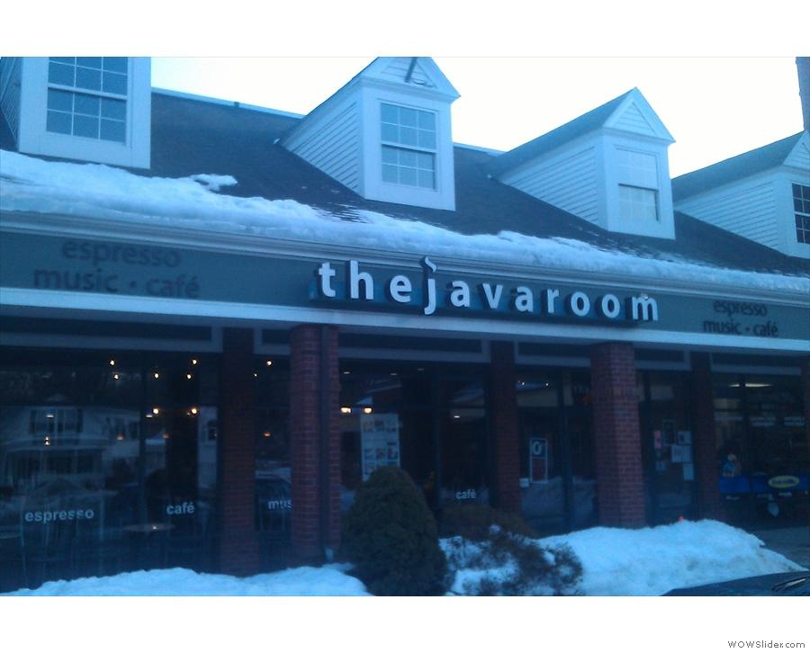 The Java Room itself...