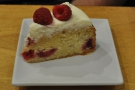 Richard's Raspberry and Sour Cream cake from Afternoon Tease.